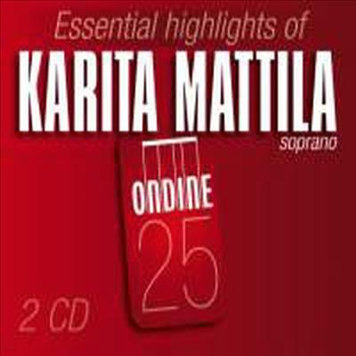 Essential Highlights of Karita Mattila (시벨리우스 가곡집 & 카리타 마틸라 라이브) - Karita Mattila