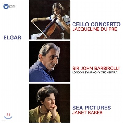 Jacqueline du Pre / John Barbirolli 엘가: 첼로 협주곡, 바다 풍경 (Elgar: Cello Concerto, Sea Pictures) 자클린 뒤 프레, 존 바비롤리 [LP]