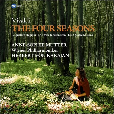 Herbert von Karajan / Anne-Sophie Mutter 비발디: 사계 (Vivaldi: The Four Seasons) [LP]