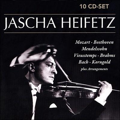 야사 하이페츠의 초상 (Portrait of Jascha Heifetz) [10CD]