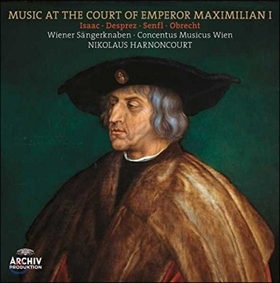 Nikolaus Harnoncourt 막시밀리안 1세 궁정의 음악 - 데프레 / 젠플 / 오브레히트 (Music at the Court of Emperor Maximilian I) [LP]
