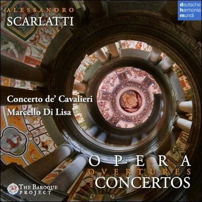 Marcello di Lisa 알레산드로 스카를라티: 협주곡과 오페라 서곡집 (Alessandro Scarlatti: Opera Overtures and Concertos) 콘체르토 드 카발리에리, 마르첼로 디 리사