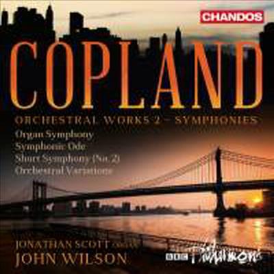 코플랜드: 관현악 작품 2집 (Copland: Orchestral Works, Vol. 2) (SACD Hybrid) - John Wilson