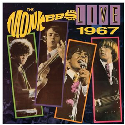 Monkees - Live 1967 (Limited Edition)(Gatefold Cover)(Red LP)