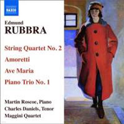 러브라 : 현악 사중주 2번, 1악장 피아노 트리오, 아베 마리아 (Rubbra : String Quartet No.2) - Martin Roscoe