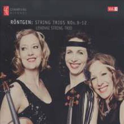 율리우스 뢴트겐: 현악 삼중주 9-12번 (Julius Rontgen: String Trio No.9-12) - Lendvai String Trio