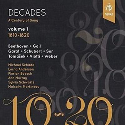 10년의 세월 - 세기의 가곡 1집 (Decades - A Century Of Song Vol.1 1810 - 1820) - Ann Murray