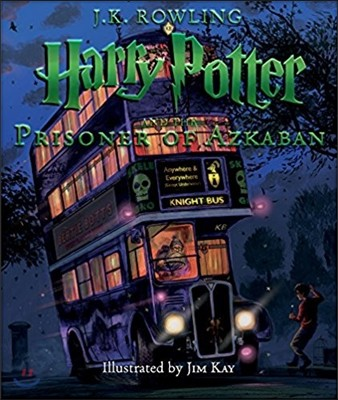 Harry Potter and the Prisoner of Azkaban : The Illustrated Edition (미국판)