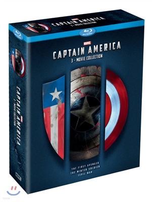 캡틴 아메리카 3-Movie Collection (3Disc) : 블루레이