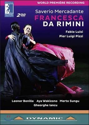 Fabio Luisi / Leonor Bonilla 메르카단테: 프란체스카 다 리미니 (Saverio Mercadante: Francesca da Rimini) 파비오 루이지, 레오노르 보닐라