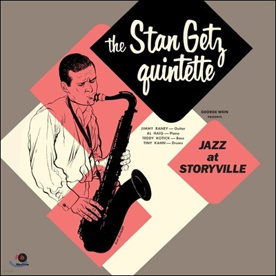 Stan Getz Quintette (스탄 게츠 퀸텟) - Jazz At Storyville (1951년 보스턴 스토리빌 라이브) [LP]
