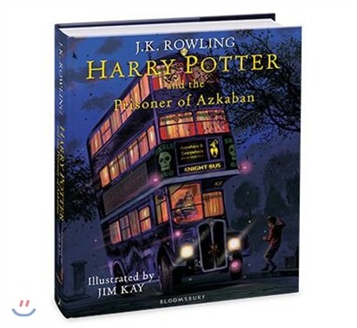 Harry Potter and the Prisoner of Azkaban : Illustrated Edition (영국판)