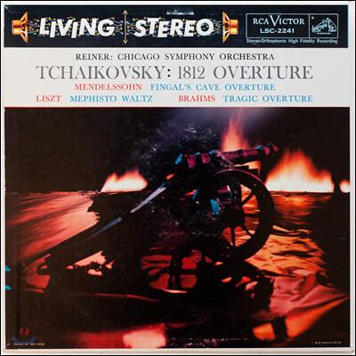 Fritz Reiner 차이코프스키: 1812 서곡 / 멘델스존: 핑갈의 동굴/ 리스트: 메피스토 왈츠 - 프리츠 라이너 [LP]
