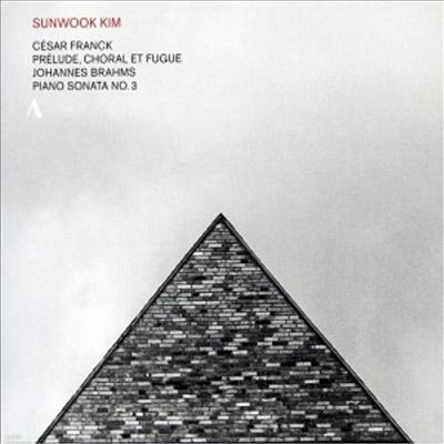 브람스: 피아노 소나타 3번 & 프랑크: 프렐류드와 코랄, 푸가 (Brahms: Piano Sonata No.3 & Franck: Prelude, Choral Et Fugue, M21) - 김선욱 (Sunwook Kim)
