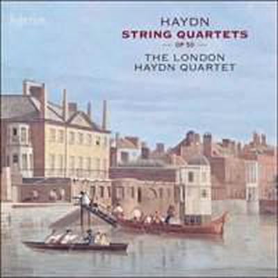하이든: 현악 사중주 Op.50 1번 - 6번(Haydn: Complete String Quartets, Op. 50 Nos.1 - 6) (2CD) - London Haydn Quartet
