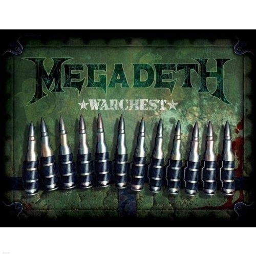 Megadeth - Warchest [Box Set / 수입반 / 미개봉 신품]