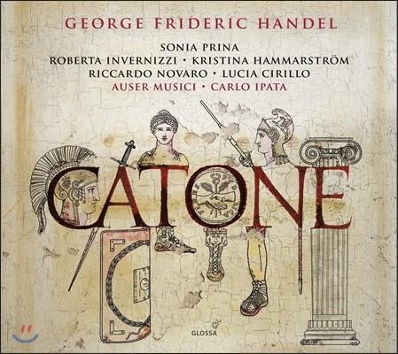 Auser Musici / Carlo Ipata 헨델: 파스티치오 오페라 '카토네' (Hadnel: Opera Pasticcio 'Catone') 로베르타 인베르니치, 카를로 이파타, 아우저 무지치