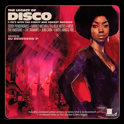 The Legacy Of Disco: Selected by DJ Reverend P (레거시 오브 디스코) [2LP]