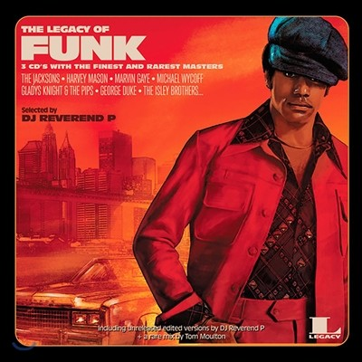 The Legacy Of Funk: Selected by DJ Reverend P (레거시 오브 펑크) [2LP]