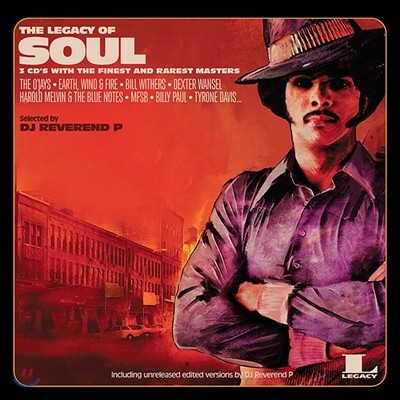 The Legacy Of Soul: Selected by DJ Reverend P (레거시 오브 소울) [2LP]