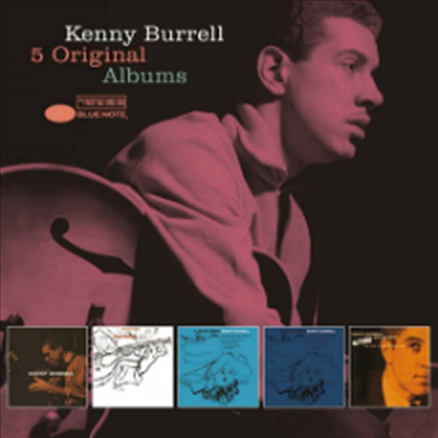Kenny Burrell - 5 Original Albums (With Full Original Artwork) (5CD Boxset)(Digipack)