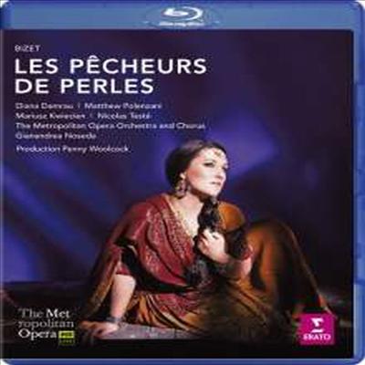 비제: 오페라 '진주조개잡이' (Bizet: Opera 'Les Pecheurs de Perles') (Blu-ray) (2017)(DVD) - Diana Damrau