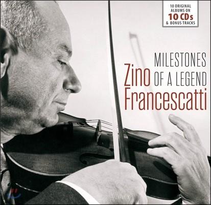 Zino Francescatti 지노 프란체스카티 - 전설의 마일스톤즈: 10 오리지널 앨범 (Milestones Of A Legend: 10 Original Albums)