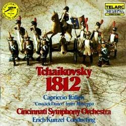 Ercih Kunzel 차이코프스키 : 1812 서곡, 이탈리아 기상곡 (Tchaikovsky : 1812 OvertureㆍCapriccio Italien)