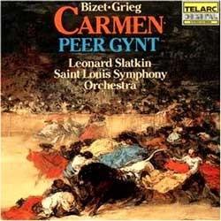 Bizet : Carmen Suite / Grieg : Peer Gynt Suite : SlatkinㆍSaint Louis Symphony Orchestra