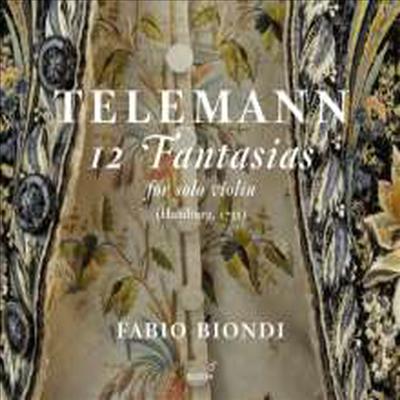 텔레만: 12개의 바이올린 환상곡 (Telemann: 12 Fantasias for Solo Violin) - Fabio Biondi