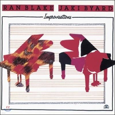Ran Blake & Jaki Byard (랜 블레이크, 재키 바이어드) - Improvisations [LP]