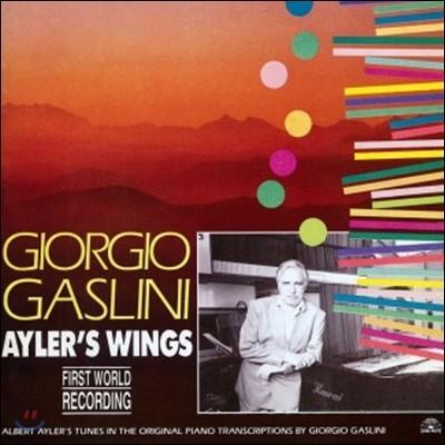 Giorgio Gaslini (조르지오 가슬리니) - Ayler's Wings [LP]