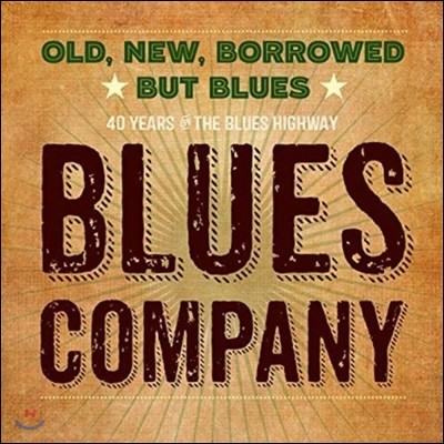 Blues Company (블루스 컴퍼니) - Old, New, Borrowed But Blues [2LP]