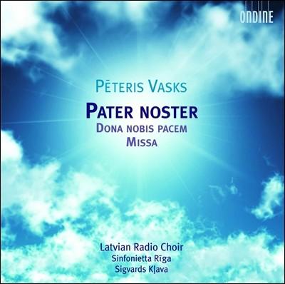 Latvian Radio Choir / Sinfonietta Riga 페테리스 바스크스: 종교 합창집 (Peteris Vasks: Pater noster)