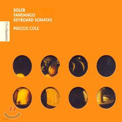 Soler : Keyboard Sonatas : Cole