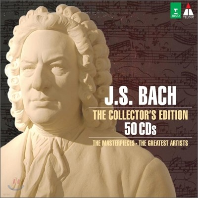 바흐 콜렉터스 에디션 50CD (Bach The Collector's Edition)
