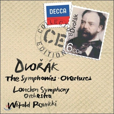 Witold Rowicki 드보르작: 교향곡 전집 (Dvorak: The Symphonies and Overtures)