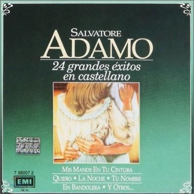 Salvatore Adamo - 24 Grandes Exitos En Castellan (스페인어 베스트 앨범)