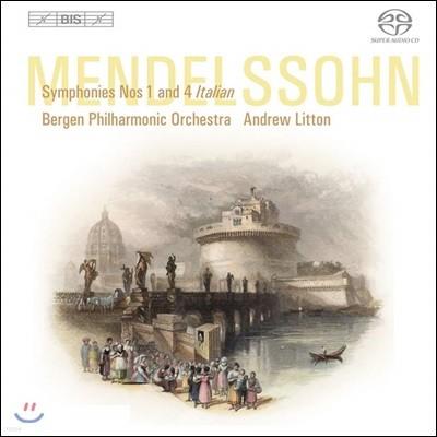 Andrew Litton 멘델스존: 교향곡 1, 4번 (Mendelssohn: Symphonies Op. 11, 90)