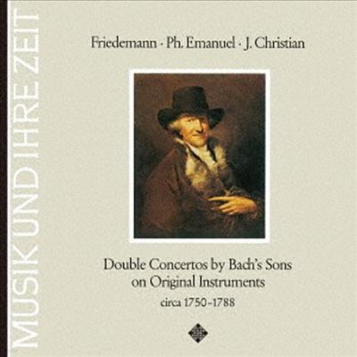 바흐 가문의 이중 협주곡 (Bach Family's Double Concertos - C.P.E. Bach, J.C. Bach, W.F. Bach & J.S. Bach) (일본반) - Nikolaus Harnoncourt