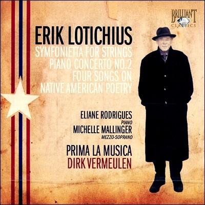 Dirk Vermeulen 에릭 로티키우스: 현을 위한 신포니에타, 피아노 협주곡 2번 (Erik Lotichius: Symfonietta, Piano Concerto No. 2)