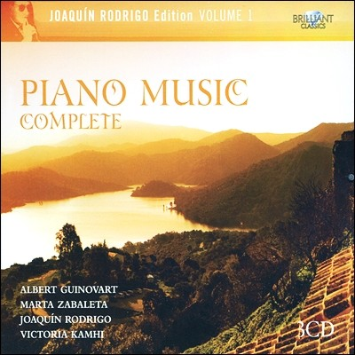 Albert Guinovart 호아킨 로드리고 에디션 1 -  피아노 작품 전곡집 (Joaquin Rodrigo Edition Vol.1 - Piano Music Complete)
