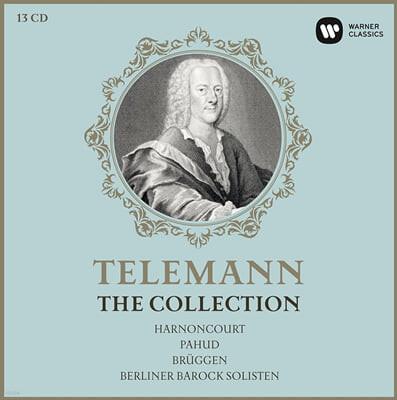 텔레만 컬렉션 - 아르농쿠르, 파후드, 브뤼헨, 베를린 바로크 솔리스텐 (Telemann - The Collection: Harnoncourt, Pahud, Bruggen, Berliner Barock Solisten)