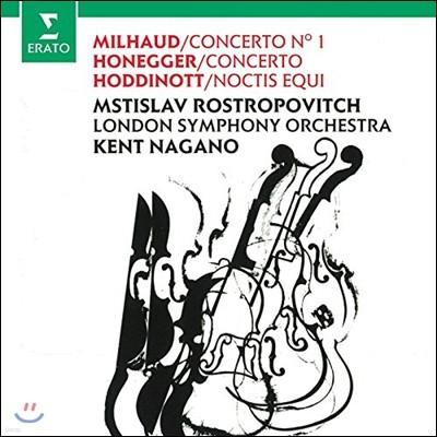 Mstislav Rostropovich 미요: 첼로 협주곡 1번 / 오네거: 첼로 협주곡 / 호디노트: 녹티스 에퀴 (Milhaud / Honegger: Cello Concertos / Hoddinott: Noctis Equi) 므스티슬라프 로스트로포비치