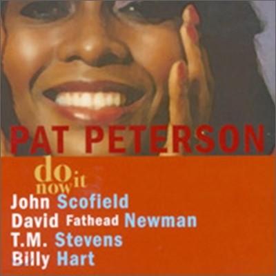 Pat Peterson - Do It Now