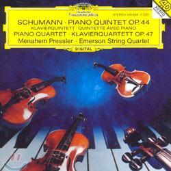 Emerson String Quartet 슈만 : 피아노 오중주ㆍ피아노 사중주 (Schumann : Piano Quintet Op.44ㆍPiano Quartet Op.47)