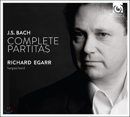 Richard Egarr 바흐: 파르티타 전곡 BWV825-830 [하프시코드 연주반] (J.S. Bach: Complete Partitas) 리차드 에가