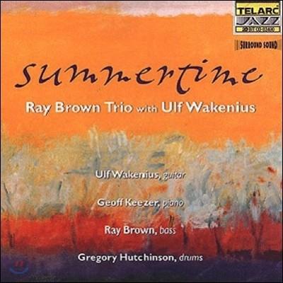 Ray Brown Trio & Ulf W (레이 브라운 트리오 & 울프 웨이크니우스) - Summertime