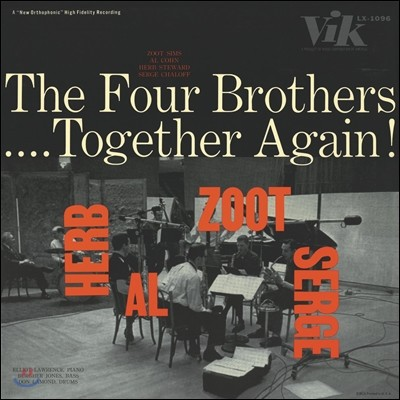 Herb / Zoot / Serge / Al (허브, 주트, 서지, 알) - The Four Brothers... Together Again! (포 브라더스.. 투게더 어게인!)