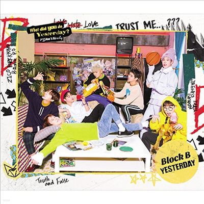 블락비 (Block.B) - Yesterday (CD+Photobook) (초회한정반 B)